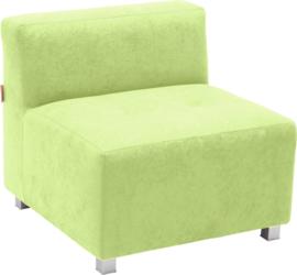 Flexi bank, zithoogte 35 cm,  groen