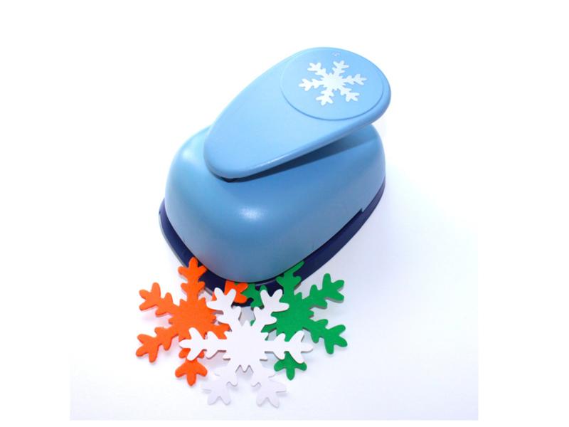 Mega vormen punch sneeuwvlok