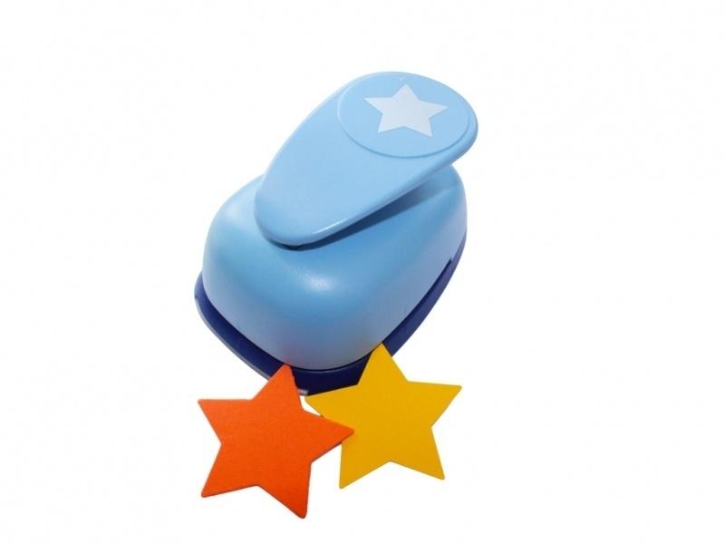 Mega vormen punch ster