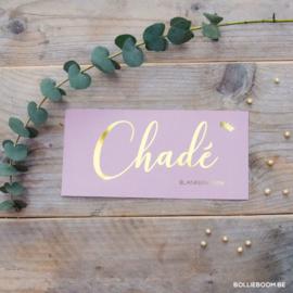 Chadé | 9 februari 2019