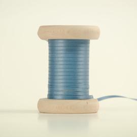 Cactusblauw satijnlint 3mm (per meter)