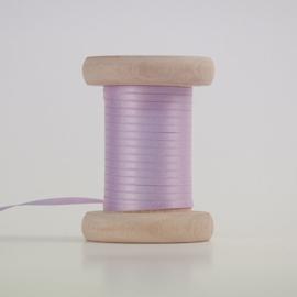 Lila  satijnlint 3mm (per meter)