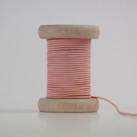 Oudroze elastiek 2 mm (per meter)