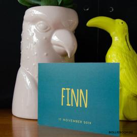 Petroleum met oker | Finn | 17 november 2019