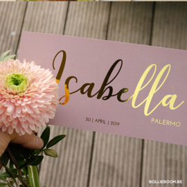 Isabella | 30 april 2019