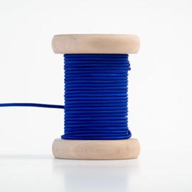 Koningsblauwe elastiek  (per meter)