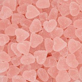 Roze hartjes met suikerlaag (1 kg) | Joris