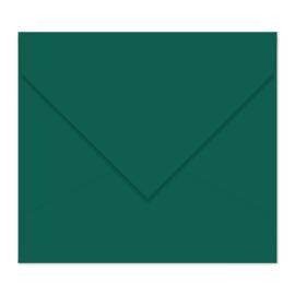 Donkergroene envelop