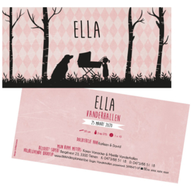 Geboortekaartje Ella