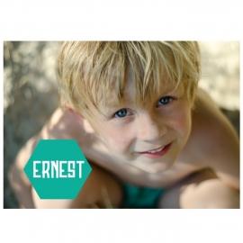 Communiekaartje Ernest