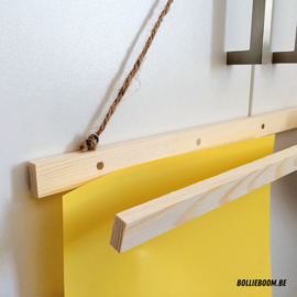 Houten frame met magneetsluiting