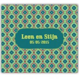Huwelijksuitnodiging Leen & Stijn