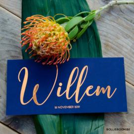 Koperfolie met multiloft | Willem | 18 november 2019