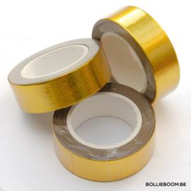 Blinkende gouden masking tape