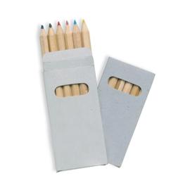 Doosje met 6 potloden