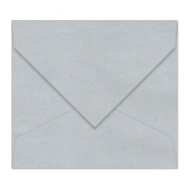 Zilver (metallic) envelop