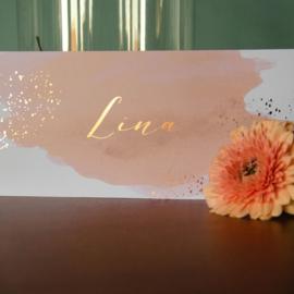 Goud rosé folie   Lina   15 december 2020