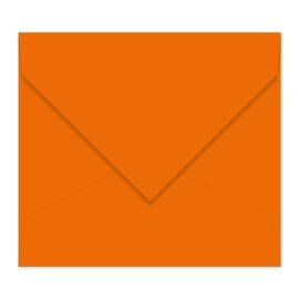 Donkeroranje envelop