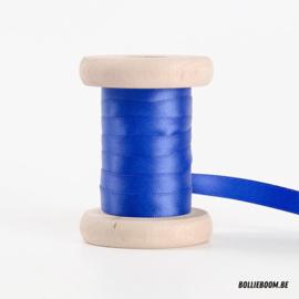 Koningsblauw satijnlint 1cm (per meter)
