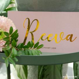 Reeva  | 16 maart 2019