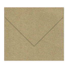 Goud (metallic) envelop