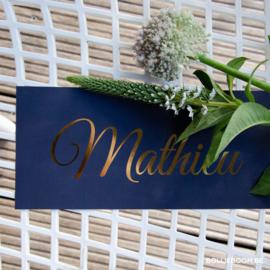 Goudfolie | Mathieu | 9  juli 2020