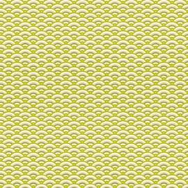 Artepatch papier: groene bogen