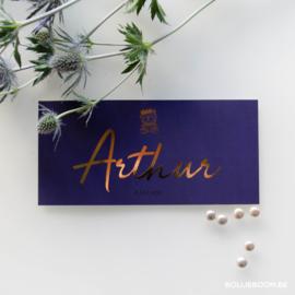 Goudfolie | Arthur | 8 juli 2020