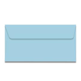 Lichtblauwe US envelop