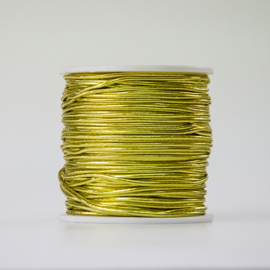 Gouden elastiek 2 mm (per meter)