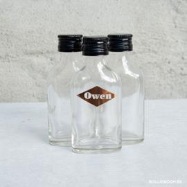 Klein vlak flesje