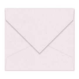 Lichtgrijze (met spikkels) envelop