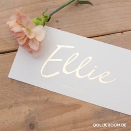 Goudfolie  |  Ellie  |  6  maart 2021