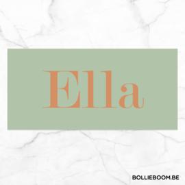 Koperfolie | Ella | 14 januari 2021