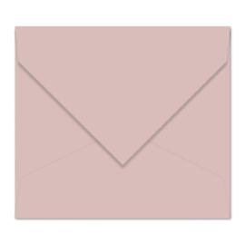 Oudroze envelop