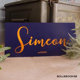 Koperfolie   Simeon   24 december 2020