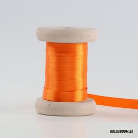 Oranje satijnlint 1cm (per meter)