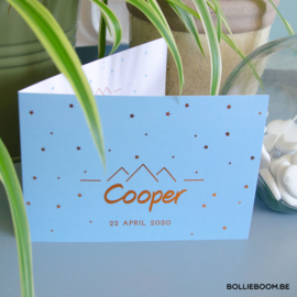 Ster  | Cooper | 22 april 2020