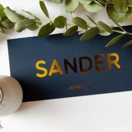 Sander | 26 mei 2019