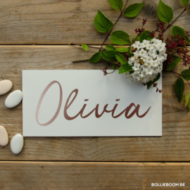 Olivia | 10 april 2019