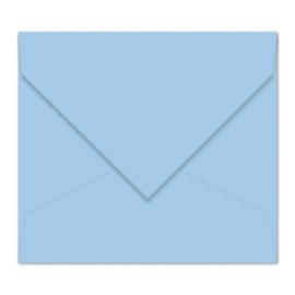 Lichtblauwe envelop