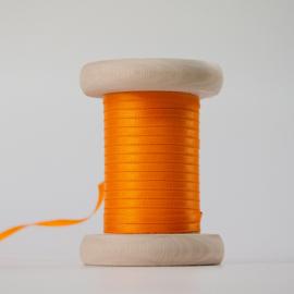 Oranje satijnlint 3mm (per meter)