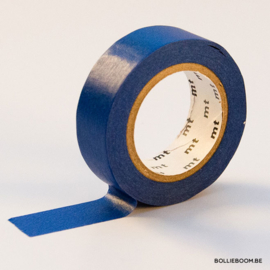 Koningsblauwe masking tape