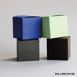Kubusdoosje: 4 kleuren