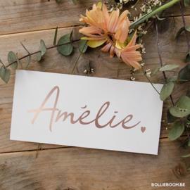Amélie | 8 maart 2019