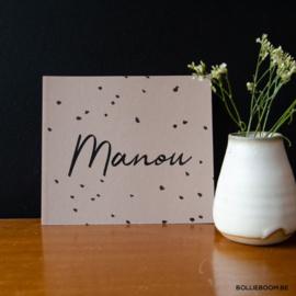 Manou | 2 november 2018