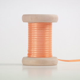 Perzik satijnlint 3mm (per meter)