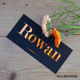 Koperfolie | Rowan | 1 januari 2021