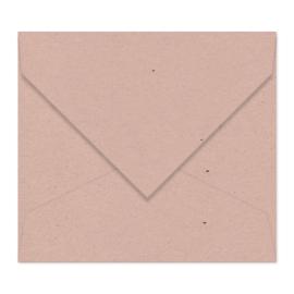 Amandel (met spikkels) envelop