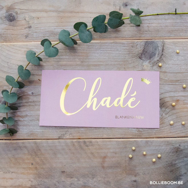 Chadé   9 februari 2019